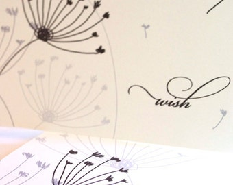 Dandelion Wishes Note Card Set