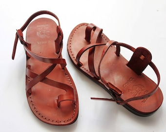 Jesus sandals ,leather sandal for women