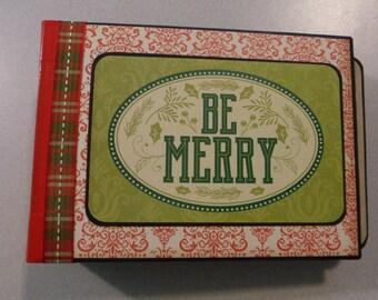 Be Merry Envelope Mini Flip Album