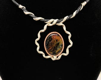 Pietersite necklace