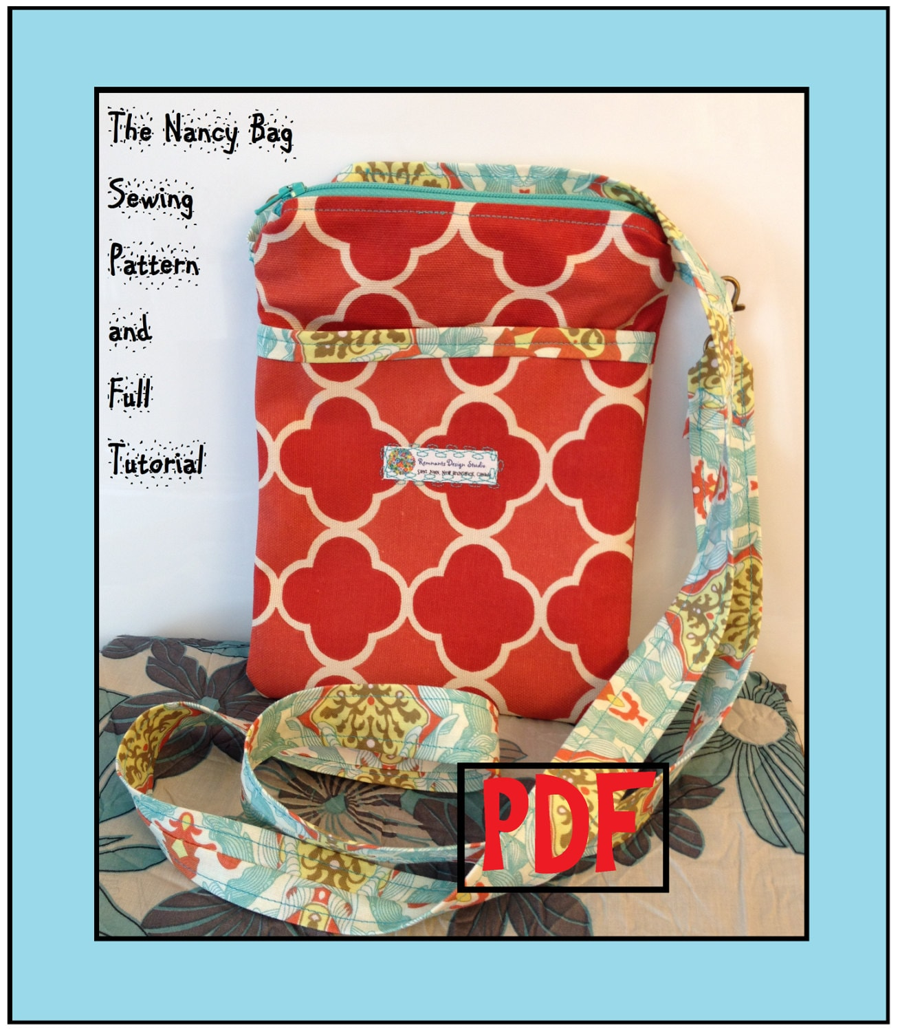 Cross body bag sewing pattern the nancy bag cross body bag sewing cross body bag sewing pattern the nancy bag cross body bag sewing pattern and tutorial instant download pdf jeuxipadfo Choice Image