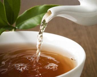 25 Tea Teabags Citrus Rooibos Hand Blended  teabags herbal caffeine free red tea