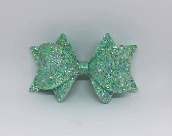 Peppermint Princess Bow
