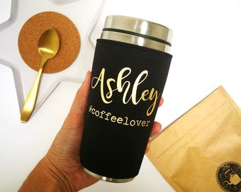 coworker gift, hashtag travel mug, personalised, coffee, tea, office, mug, thank you, coworkers gifts, unique tumbler, travel cup, custom