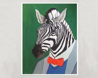 Art Print - Zebra - Signed by Artist - 3 Sizes - S/M/L