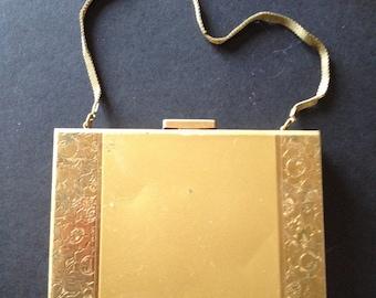 1950's Vintage brass Minaudière