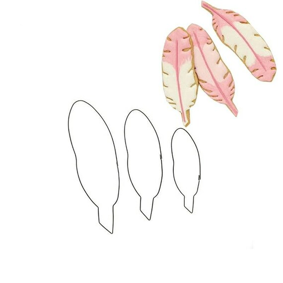 Feather Cookie Cutter Set