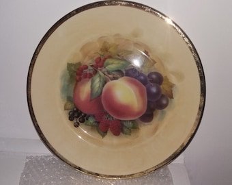 Staffordshire  Collectable Plate
