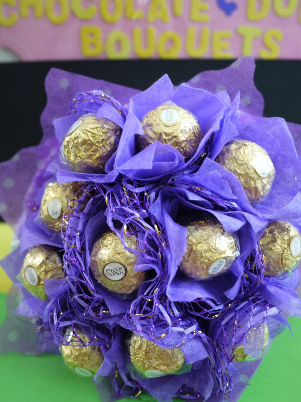 Ferrero rocher chocolate flower bouquet chocolate birthday zoom izmirmasajfo Images
