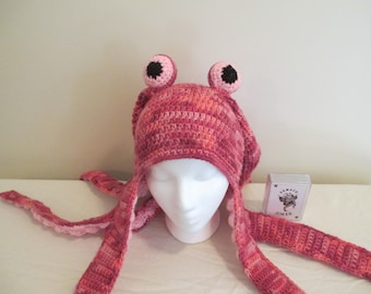 Child 4-8 Octopus Hat