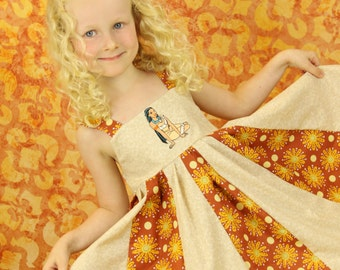 custom boutique twirl dress made with disney princess pocahontas or Simba  patch 2-6