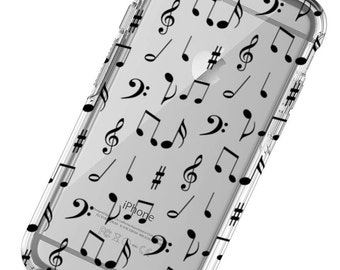 Music Notes, Musical, Band Design Phone Case, iphone 6 Case, iphone 7 Case, iphone 6 plus Case, iphone 7 plus , iphone X Phone Case