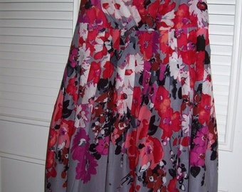 Sundress 10,  Evan Picone pink/red Sundress To Top Them All Off, Size 10 - 12 Sensational !
