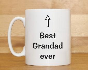Best Grandad ever mug, Grandad mug, Grandad Birthday mug, Birthday mugs, Grandfather mug, Grandad gift, Funny coffee mug, Mug gift,