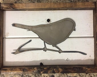 Perched Bird Sign