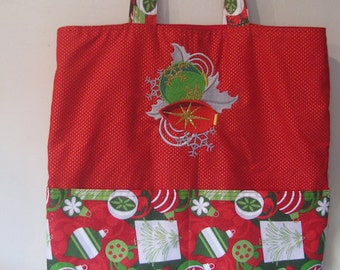 Fancy Ornaments Design A Eco Friendly Tote - Shopping Bag