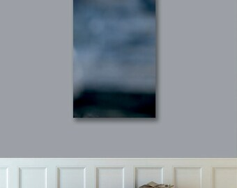 Ready to Hang Abstract Landscape Photo, Canvas Print, Digitally Enhanced, Grey Gray Sky, Abstract Photography, Photograph, 24x36, 36x24
