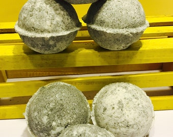 Black Coconut Bath Bomb