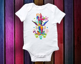 Coco  Alebrije it Baby Clothes: 100% Cotton Onesie  (0-3. 3-6,6-12)