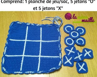 Game of tic tac toe, hobby, transport, portable game fun family game, creating a custom-made