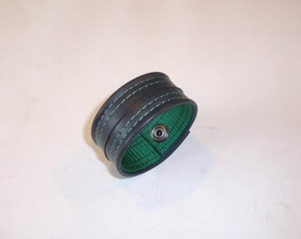 Recycled Rubber Bracelet- Green
