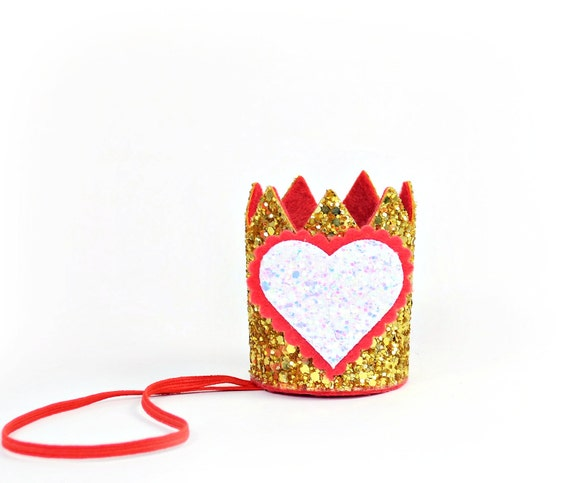 Valentine Crown || Birthday Outfit || Dog Hat || Birthday Crown || Animal Crown || Animal Party || Birthday Party Photo Prop
