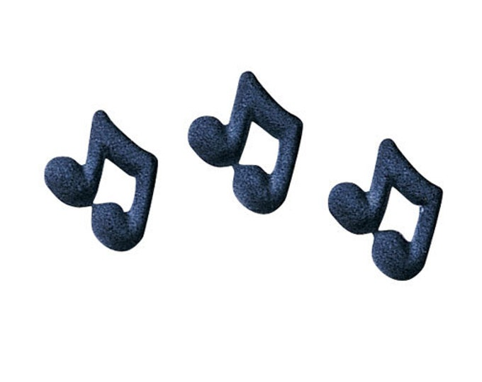 30 Music Notes Edible Molded Sugar Cake / Cupcake Topper Decorations Birthdays, Parties