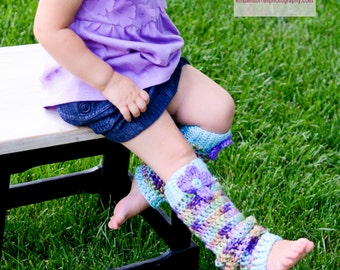 Crochet PATTERN Leg Warmers for Baby and Toddler