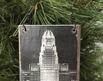 Buffalo,NY City Hall Ornament