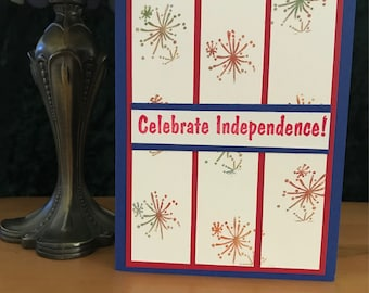 Independence Day (Fireworks) Card