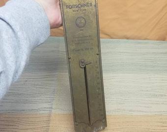 Vintage Forschner New York Weigh Scale