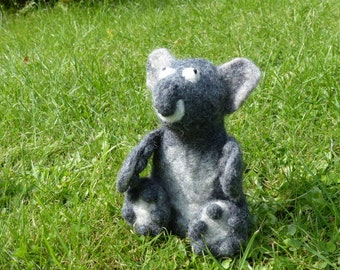 Koala bear Felt Eggwarmer designed in Germany, handcrafted from Nepal