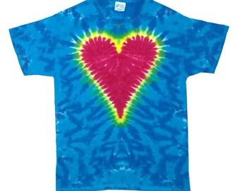 Tie Dye T-Shirt - Heart