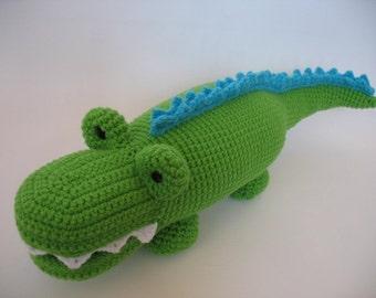 Crocheted Alligator PDF Pattern