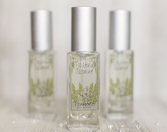 Floating Jasmine Perfume | Spring and Summer Inspired Fragrance of Jasmine, Green Grass, Sunshine, and Orange