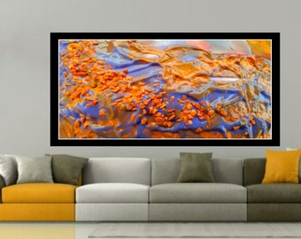 Abstract mixed media, Giclee canvas print, Living room Art, acrylic Painting, modern art, wall art print Acrylic canvas fine art, fluid art