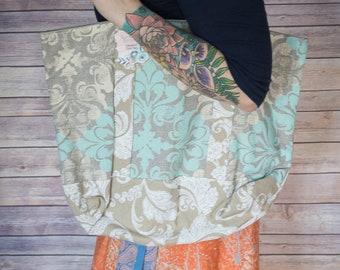 Tote Bag - Handbag - Canvas Bag - Purse - Luggage - Diaper Bag  - Shopping Bag - Shopping Tote - Carry On