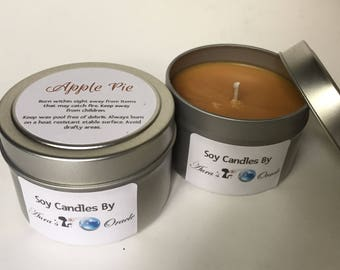 Apple Pie 4oz Soy Candle