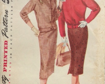Slimming suit Simplicity pattern