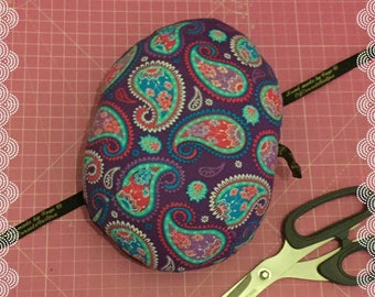 Tailors Ham purple paisley