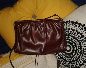 Vintage Morris Moskowitz leather handbag