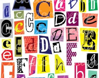Magazine cut out letter acorsigntrail magazine cut out letter spiritdancerdesigns Choice Image