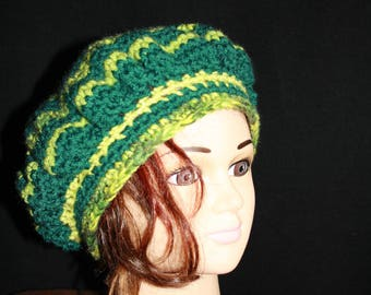 Heather Green Beret and other fall/winter