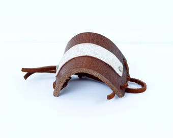 Leather Hair Wrap, Wrap for Hair, Hair Wrap Leather, Rustic Leather Gifts, Birthday Girlfriend, Rustic Hair Accessories, Accessories for Her
