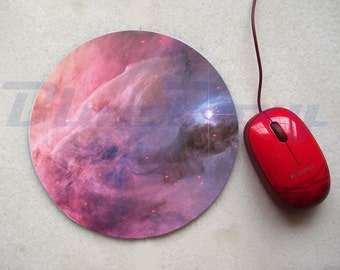 Galaxy Nebula Mousepad, Office Mousepad, Computer Mouse Pad, Fabric Mousepad