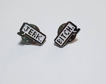 Supernatural Dean and Sam enamel pin badge