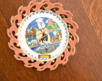 Wyoming Wall Decor Plate
