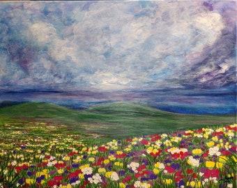 Field of flower dreams