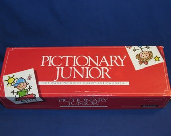 PICTIONARY JUNIOR The Game of Quick Draw 1987