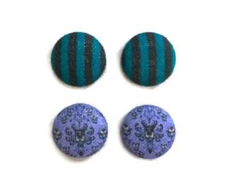 Haunted Mansion Earrings Disney Inspired Haunted Mansion Earrings